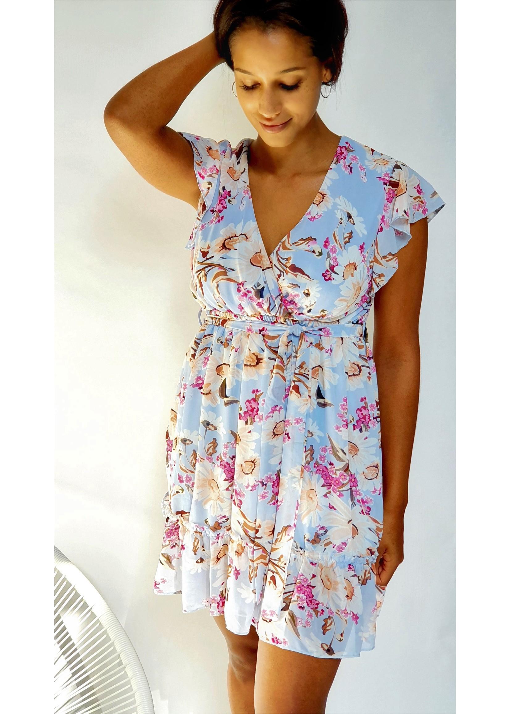 Thé shiny flower dress