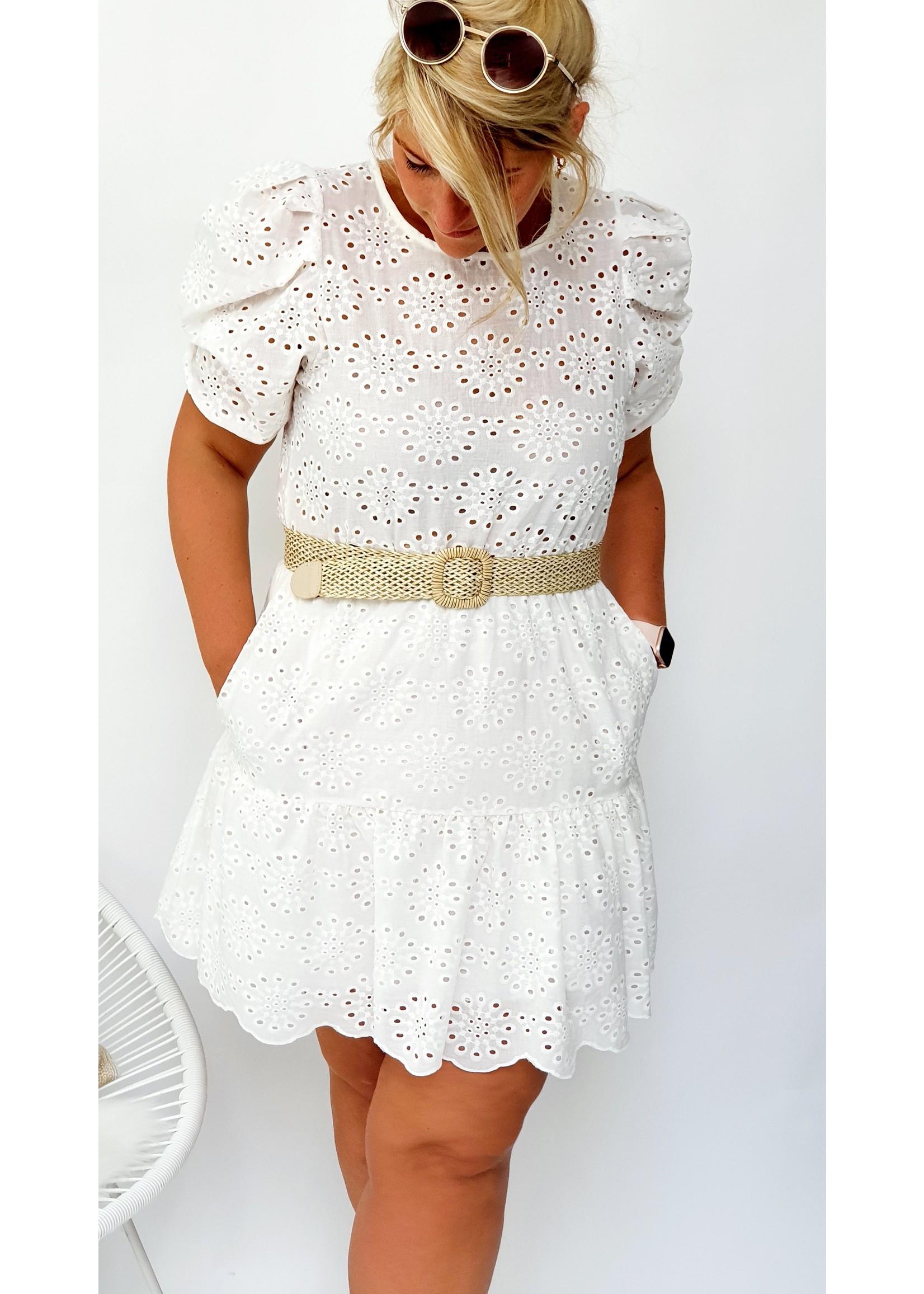 Thé white feeling dress