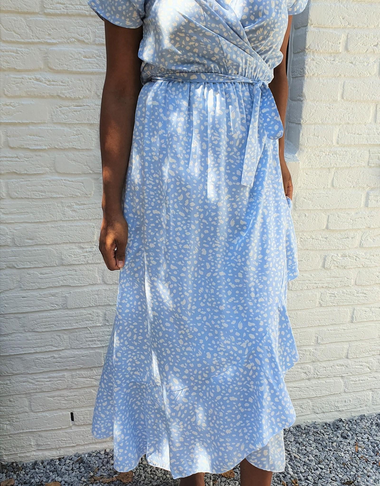 Thé babyblue leopard dress