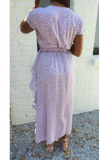 Thé lilac leopard dress