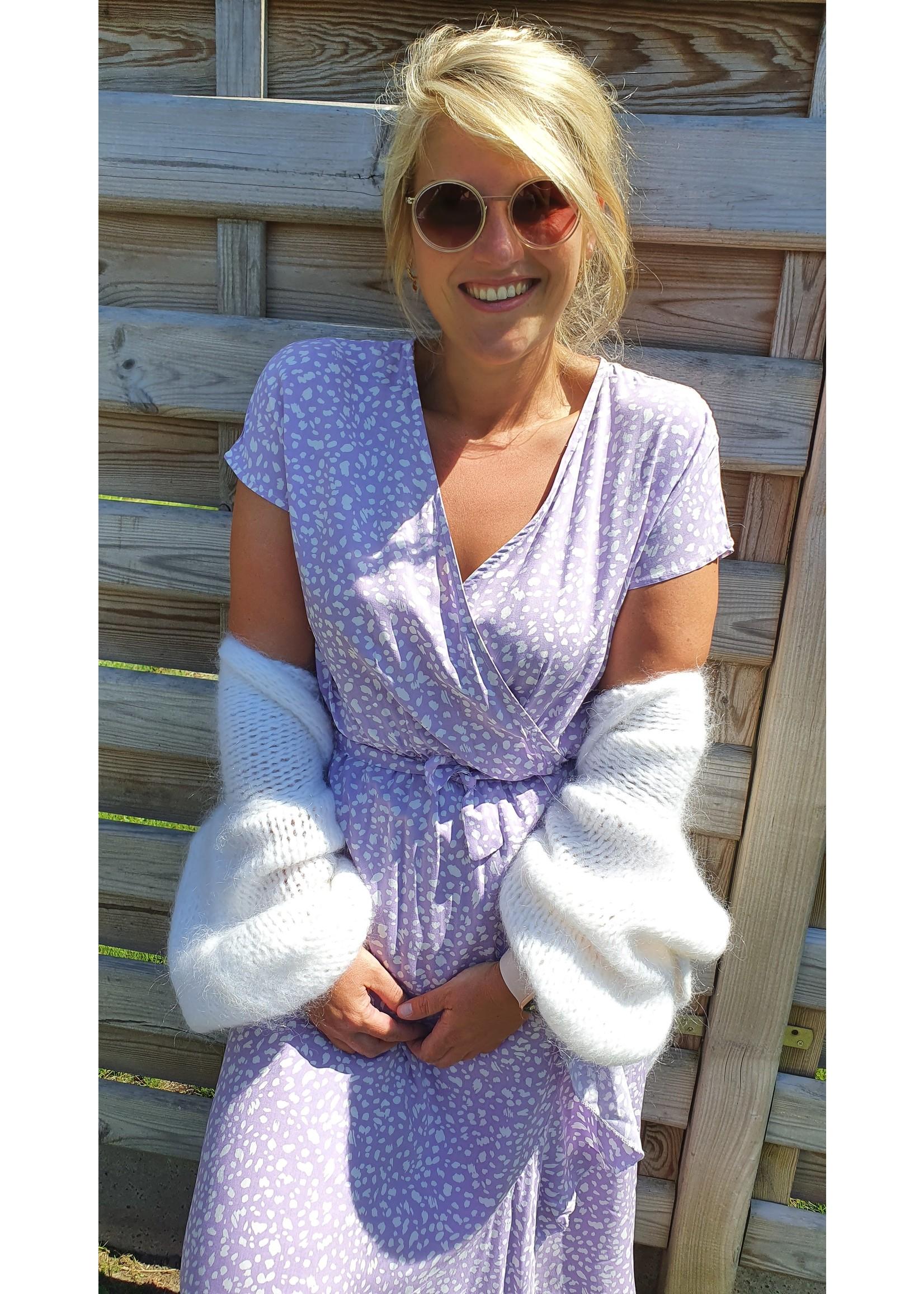 Thé lilac leopard dress