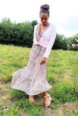 Classy pink cardigan