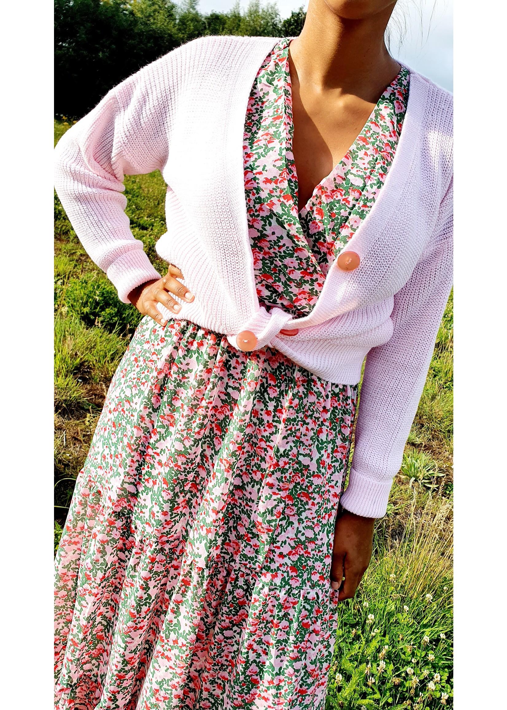 Thé field of flowers dress
