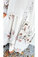 Thé lady white flower dress
