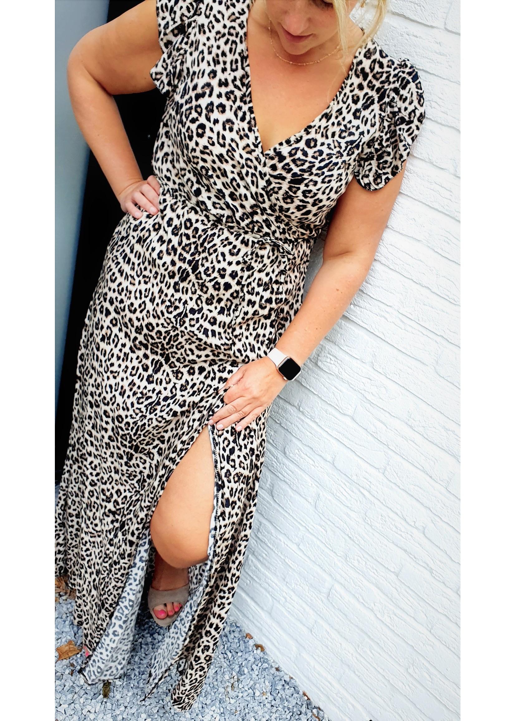 Thé summer leopard dress