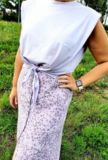 Thé padded lilac shirt