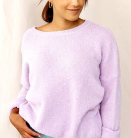 Mika Elles Lilac love sweater