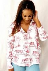 Thé safari blouse