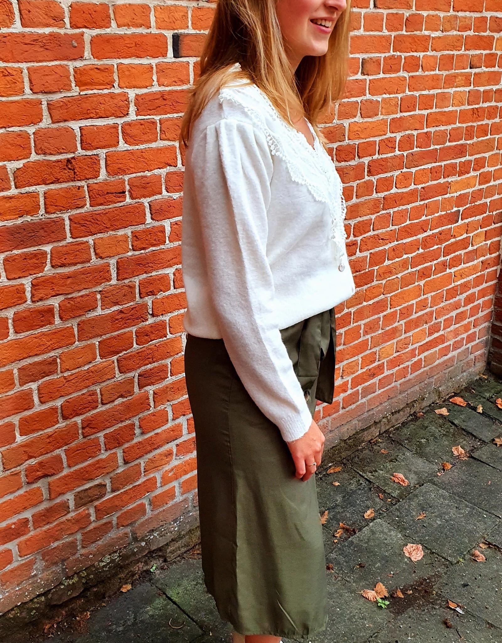 Cherry Paris Officiel Cherry green skirt