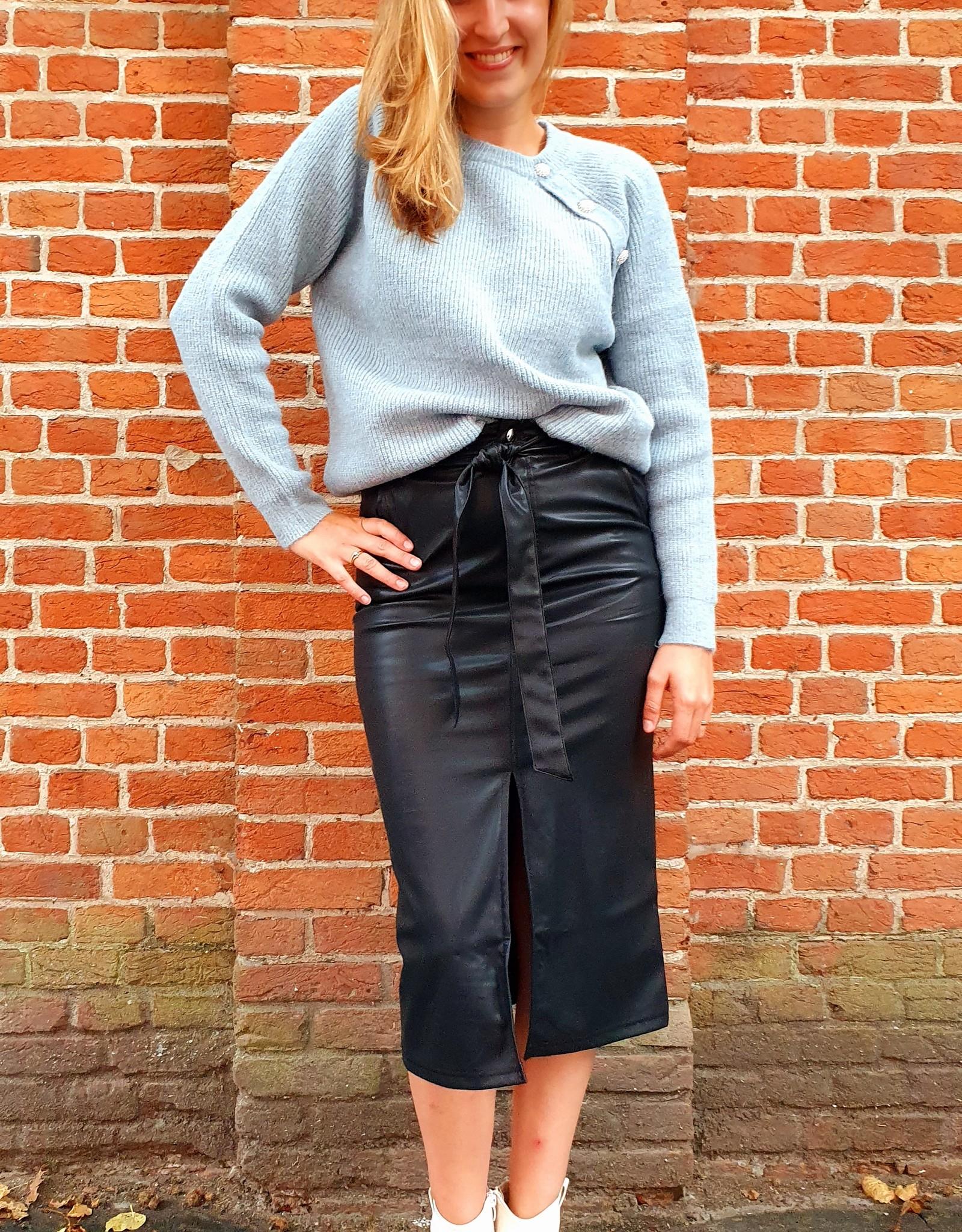 Cherry Paris Officiel Cherry black skirt