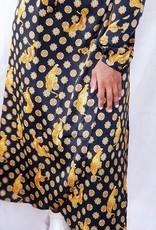 Black power dress