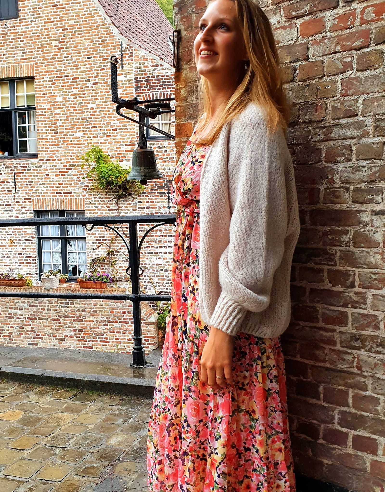 Colourful autumn dress