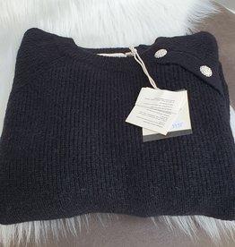 Cherry Paris Officiel Cherry black sweater