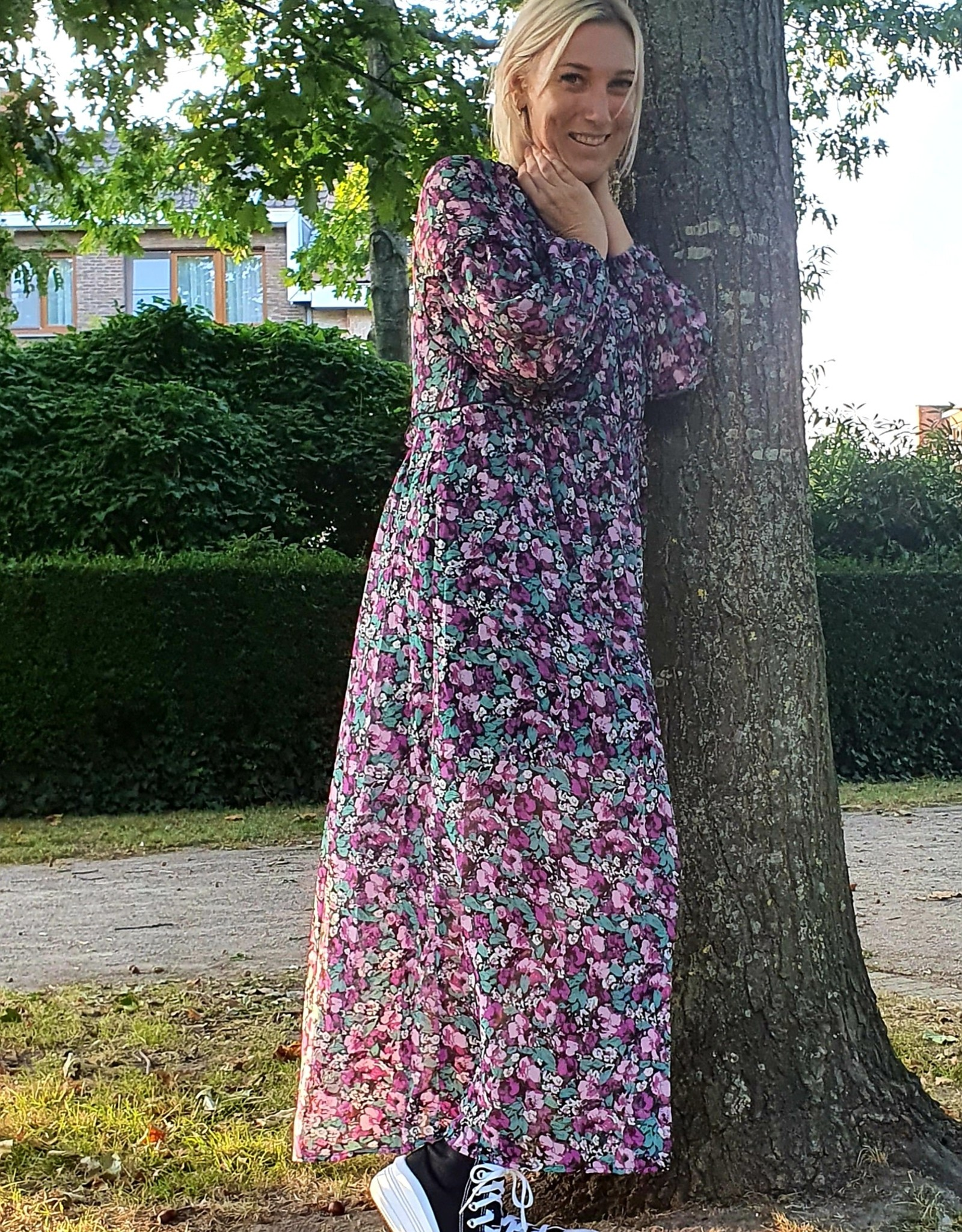 Thé autumn flower dress