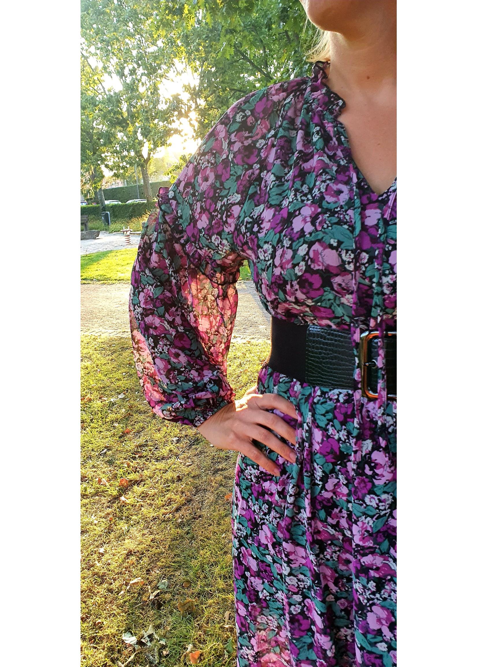 Thé autumn flower dress
