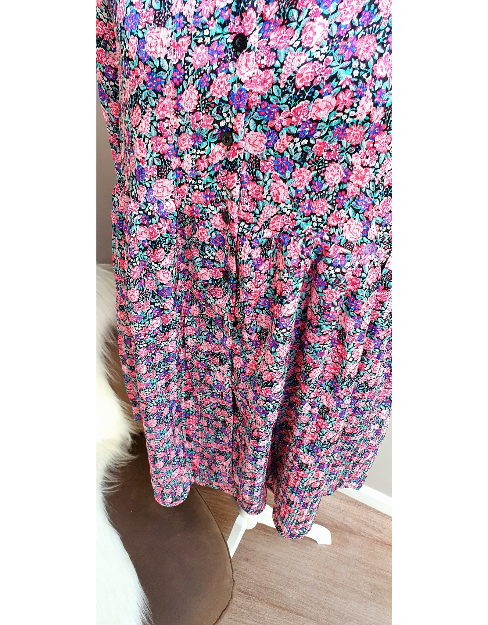 Thé pink blouse dress