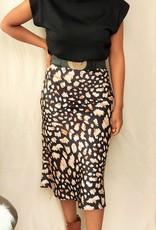 Shiny autumn skirt