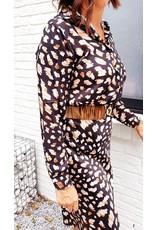 Black autumn blouse