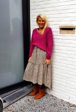 Mika Elles Purple feeling knitted sweater