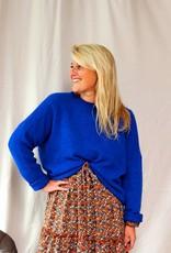 Mika Elles Blue love sweater