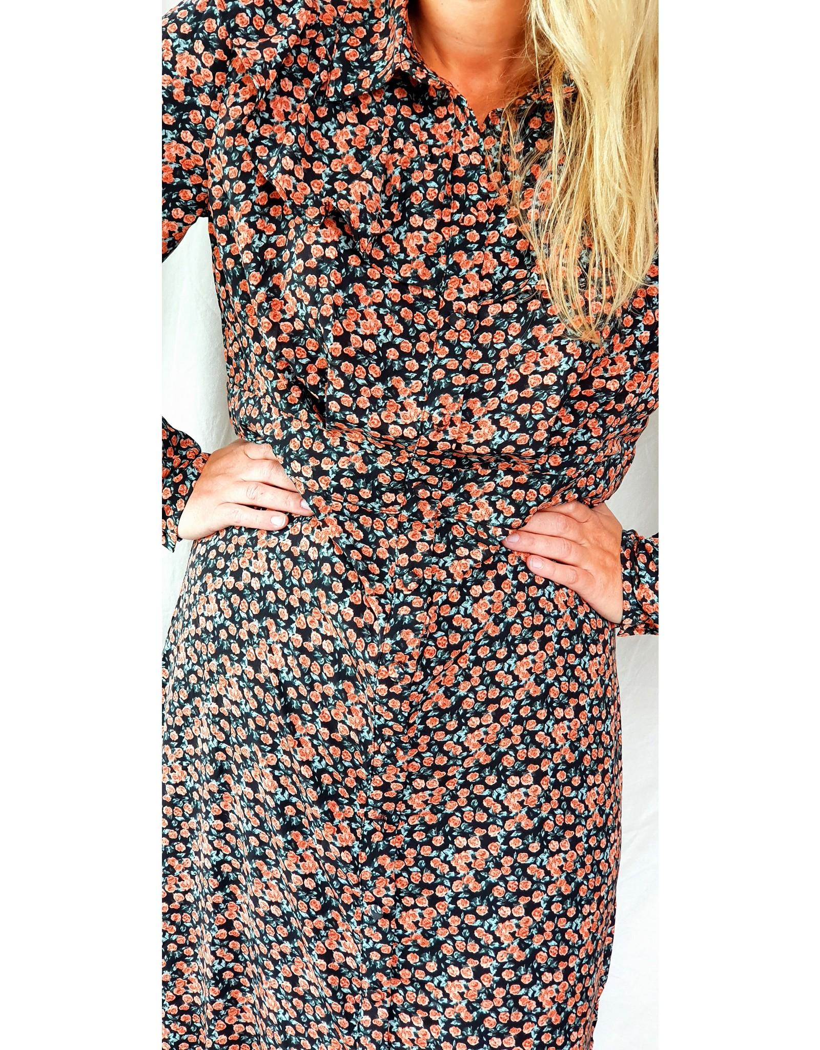 Lofty Manner Dress Grazia orange