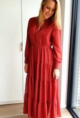Rouge autumn dress