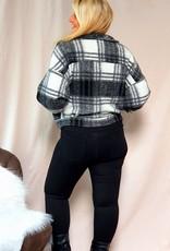 High waist shiny