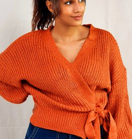 Toffee cardigan
