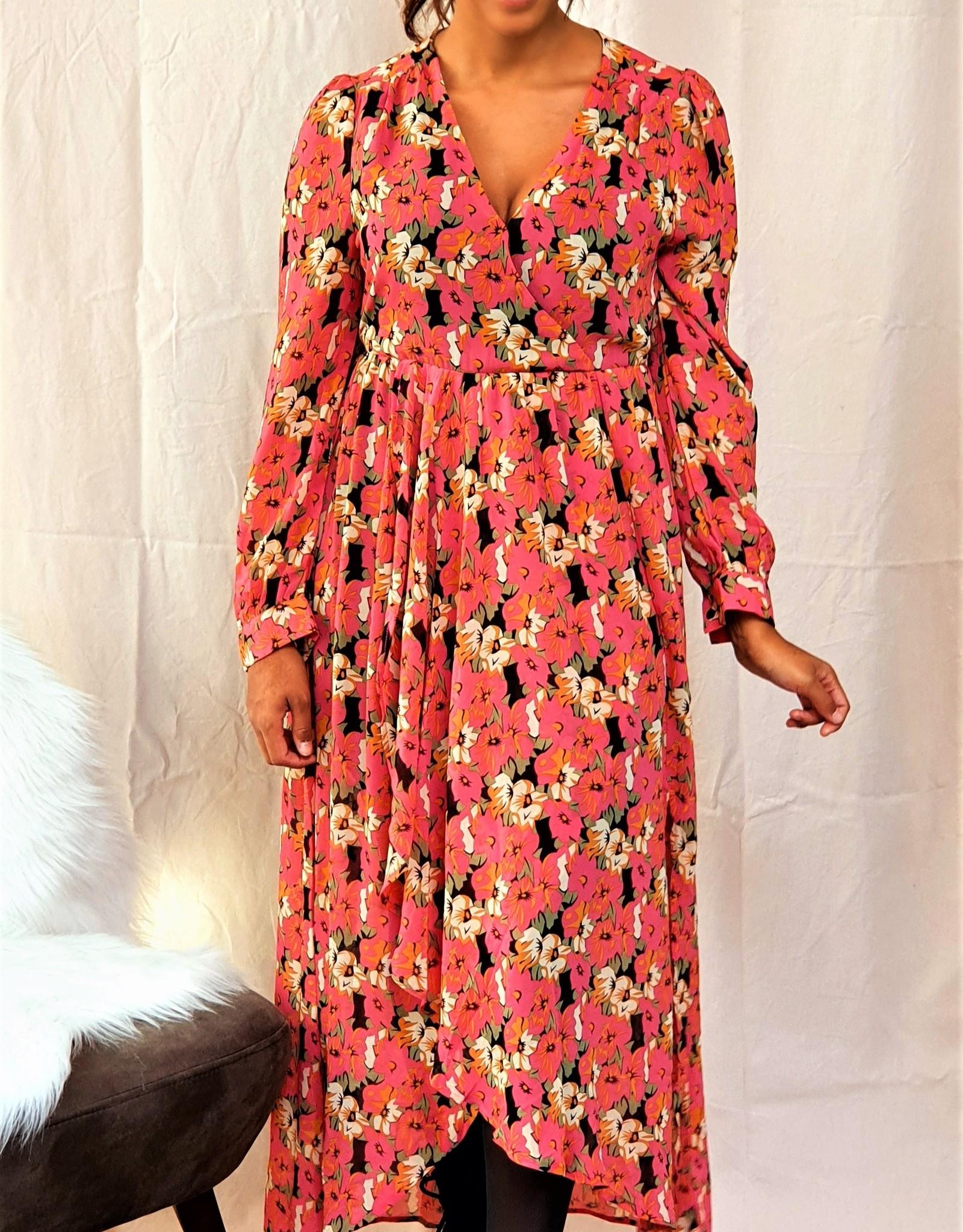Cherry Paris Officiel Cherry love pink dress