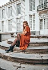 Lofty Manner Dress Estella orange