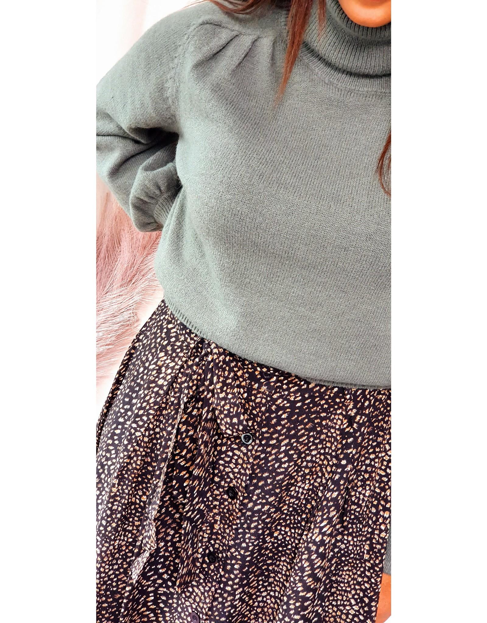 Ydence Skirt Sophia Black Print