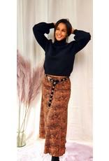 Ydence Skirt Jane Leopard
