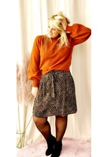 Ydence Knitted Sweater Pascalle Brown