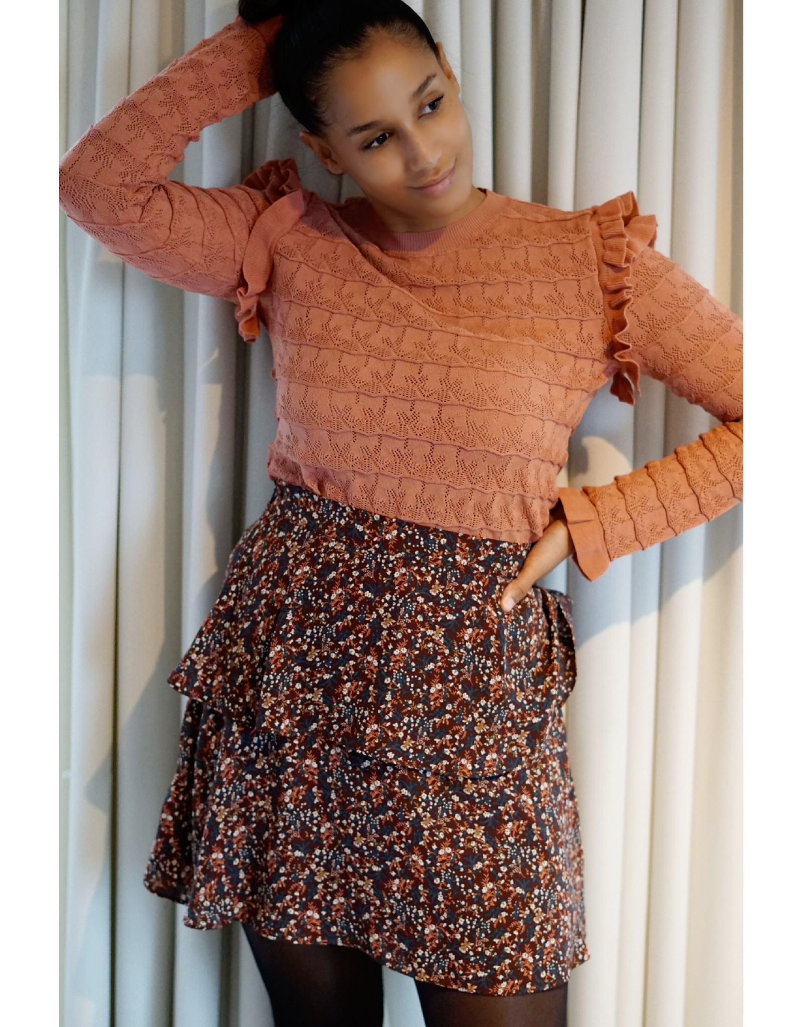 Lofty Manner Sweater Geraldine pink