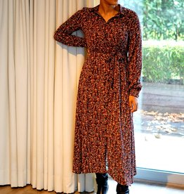 Lofty Manner Dress Gaia brown