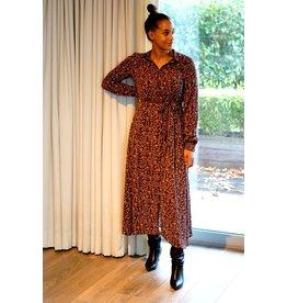 Lofty Manner Dress Gaia brown
