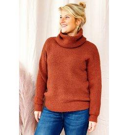 Brique winter love knitwear