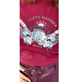 Lofty Manner Tee Isaya red