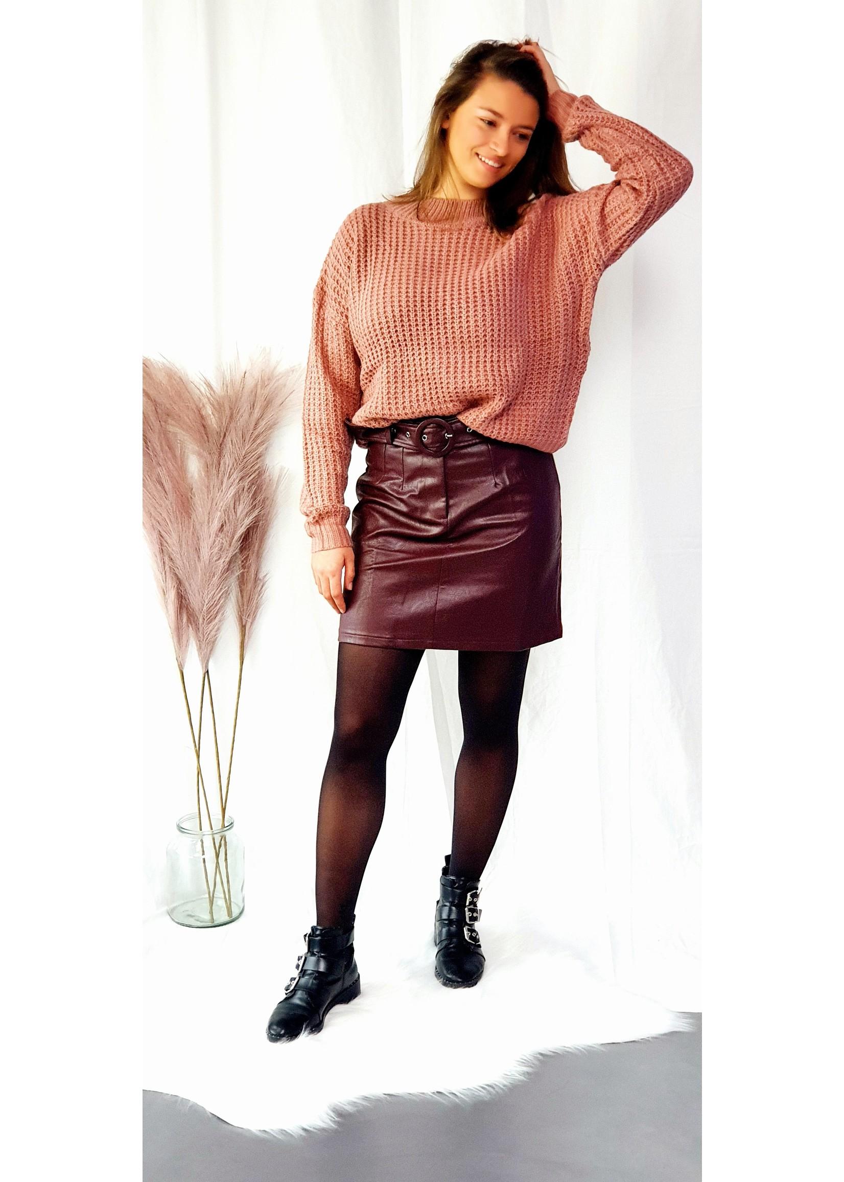 Lofty Manner Skirt Salomé red
