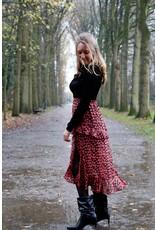 Skirt Heidi red flower