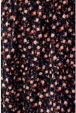 Skirt Myrta black - orange