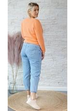 Cherry Paris Officiel Love orange sweater