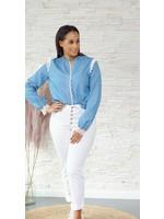 Cherry Paris Officiel Cherry Jeans lace blouse