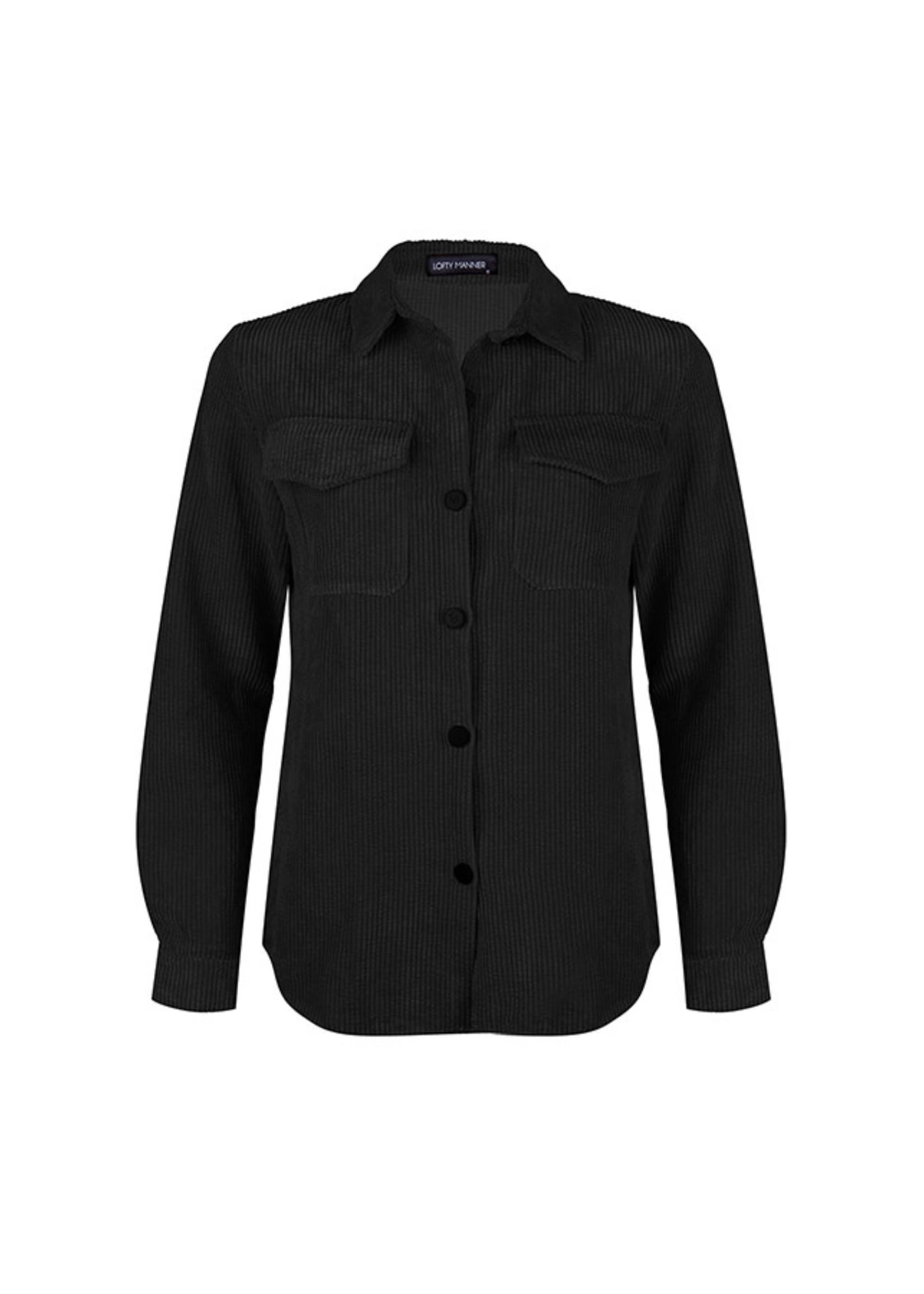 Lofty Manner Jasje/Blouse Black