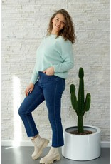Blue jeans, perfect fit