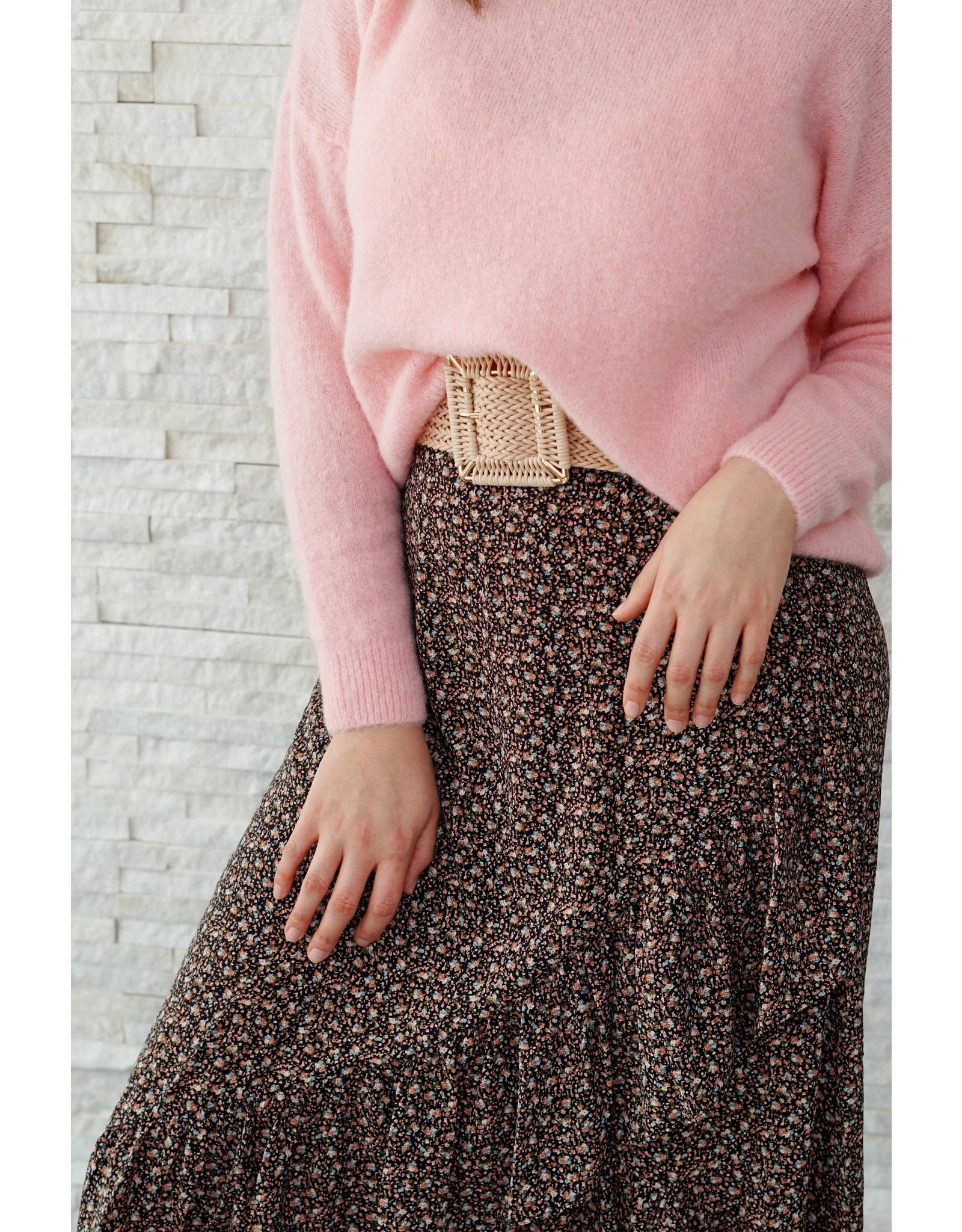 Mika Elles Sweet pink love sweater