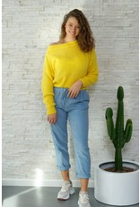 Mika Elles Yellow knitted sweater