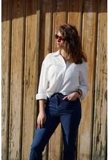 Cherry Paris Officiel Cherry tetra white blouse