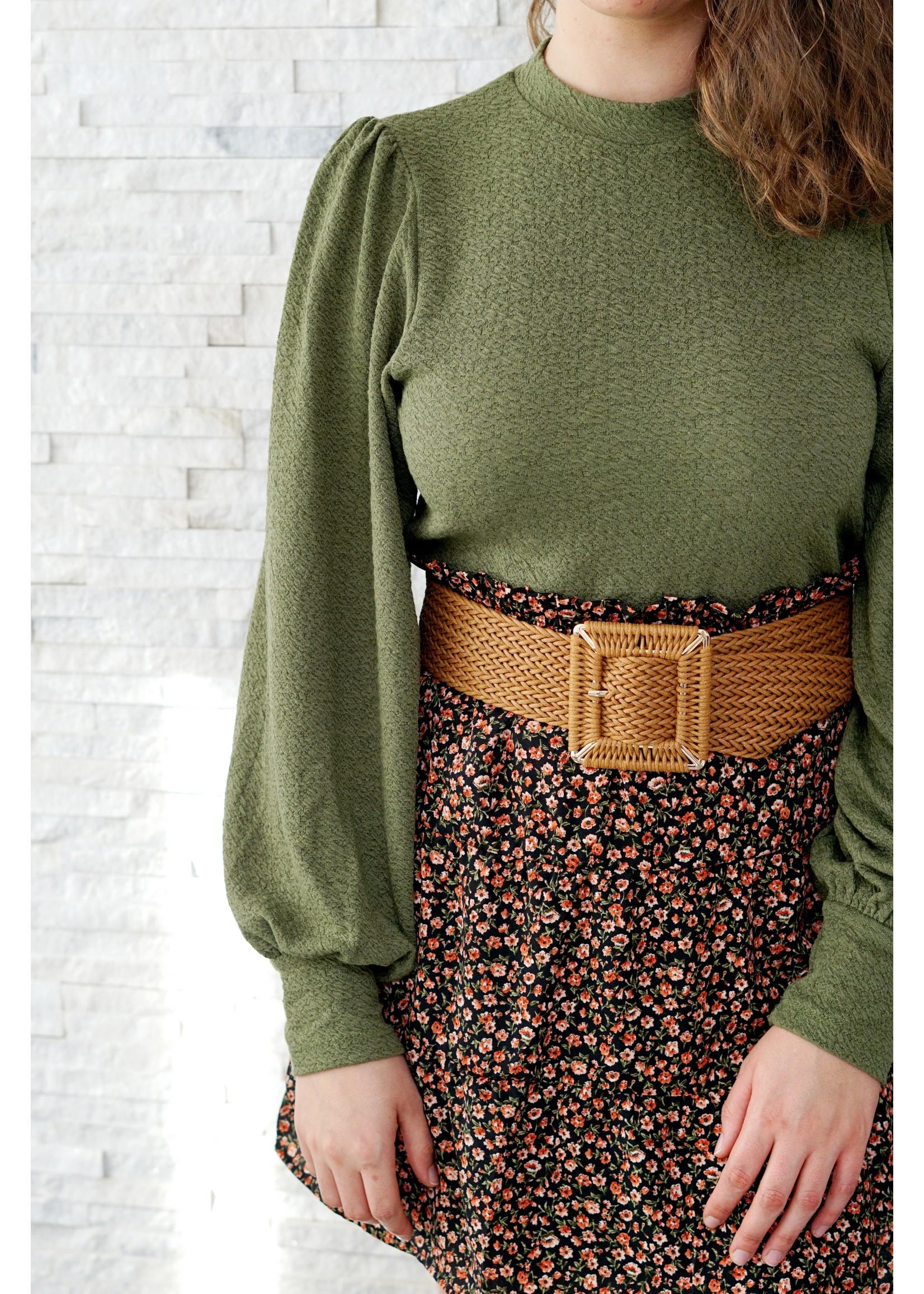 Lofty Manner Lichte sweater green