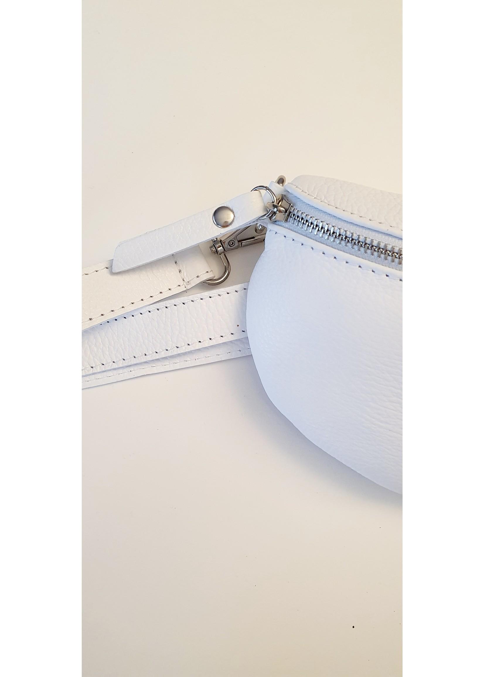Bum bag white